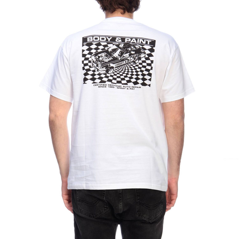 Camiseta hombre Carhartt blanco 3