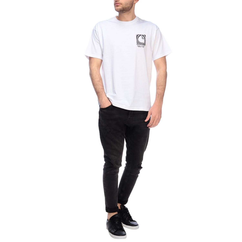 T-shirt Carhartt a maniche corte con maxi stampe bianco 4