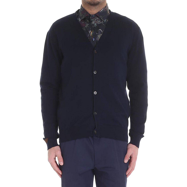Sweater men Etro blue 1