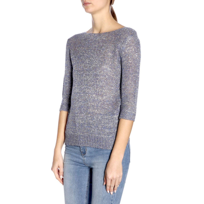 Pullover damen Etro blau 2