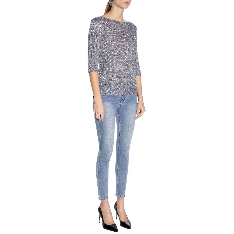 Pullover damen Etro blau 4