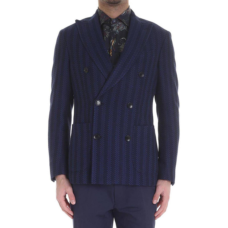 Jacke Etro: Jacke herren Etro blau 1