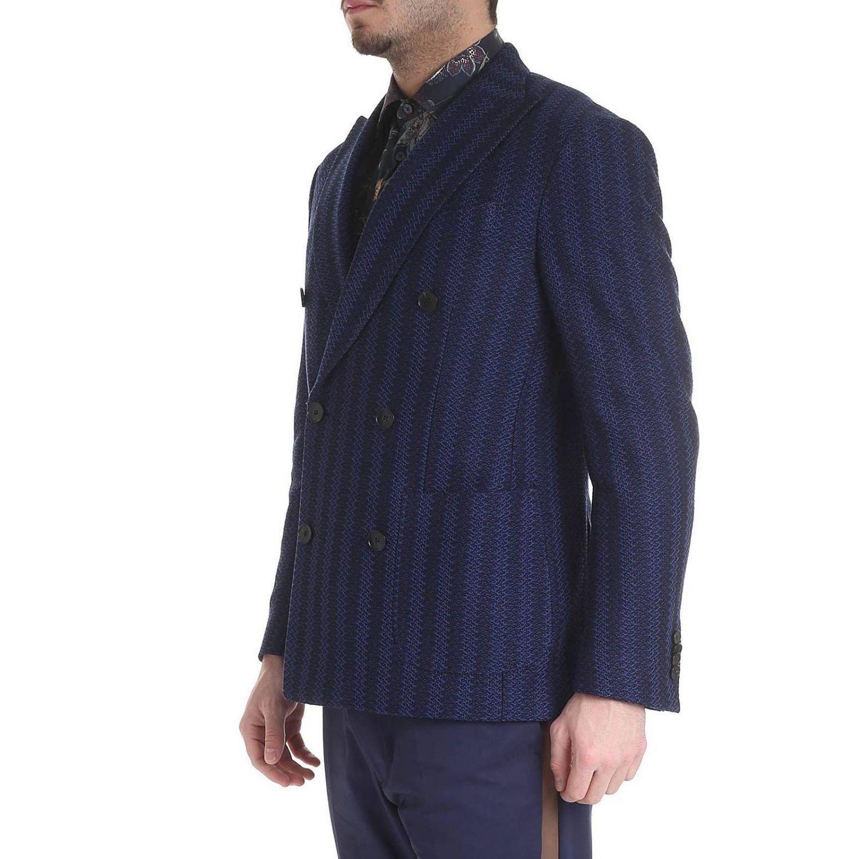 Jacke Etro: Jacke herren Etro blau 2