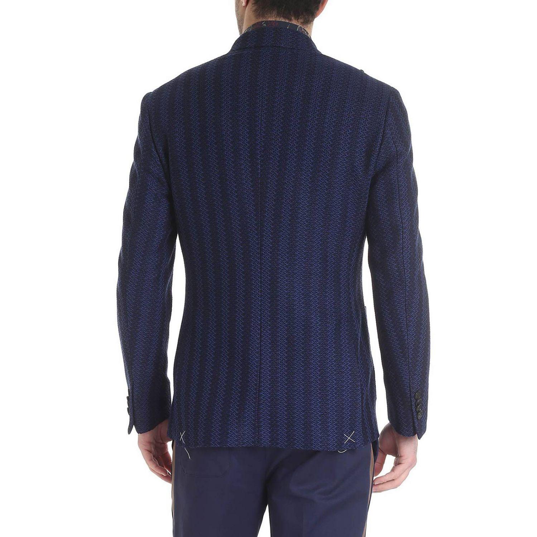 Jacke Etro: Jacke herren Etro blau 3