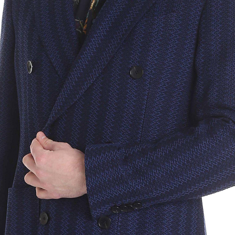 Jacke Etro: Jacke herren Etro blau 4