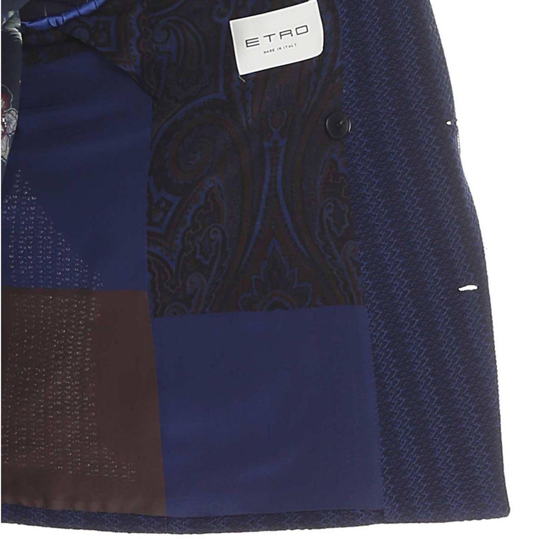 Jacke Etro: Jacke herren Etro blau 5