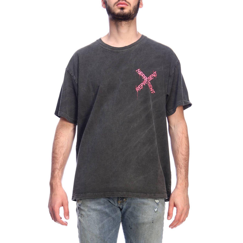 T-shirt men Represent pink 1