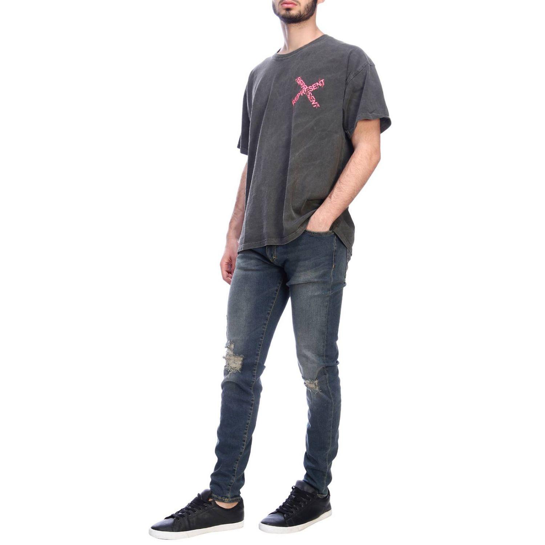 T-shirt men Represent pink 4