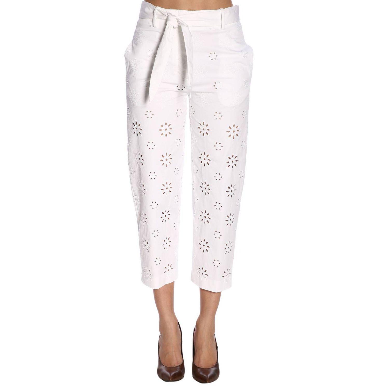 Trousers women True Royal white 1