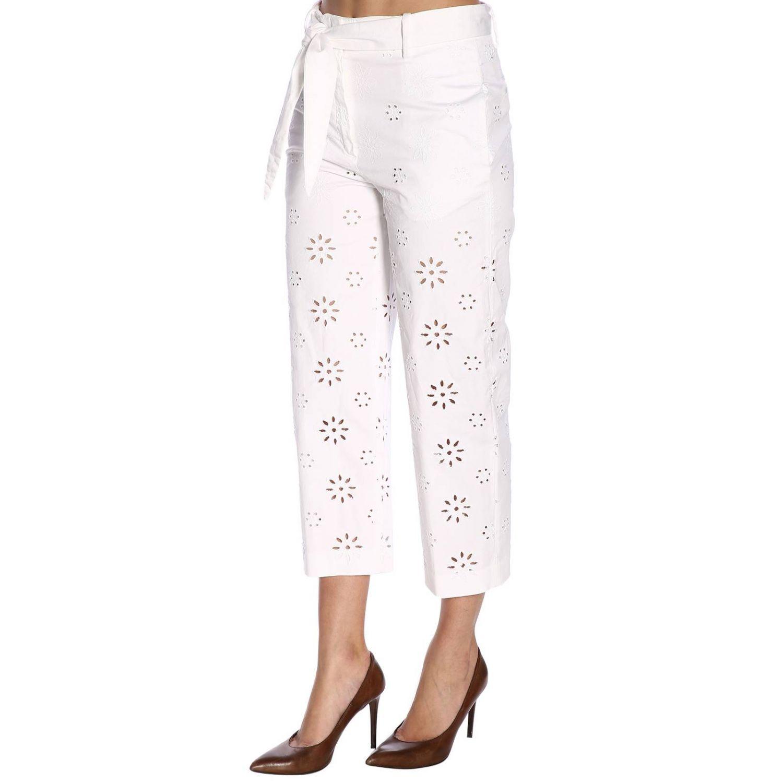 Trousers women True Royal white 2