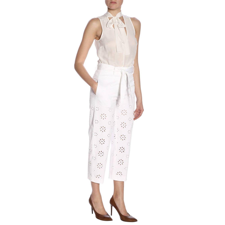 Trousers women True Royal white 4