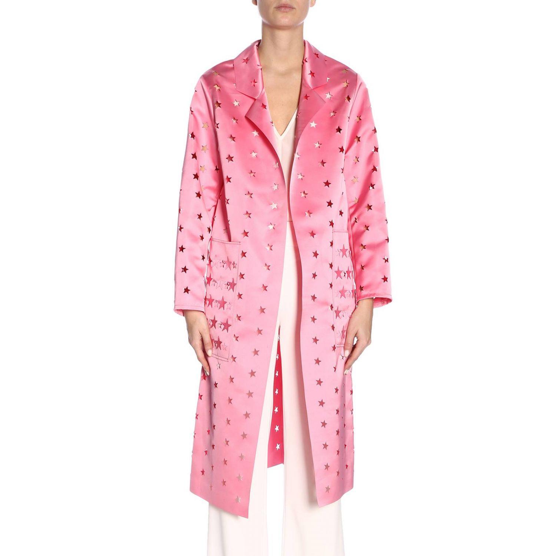 Cappotto donna Caban Romantic rosa 1
