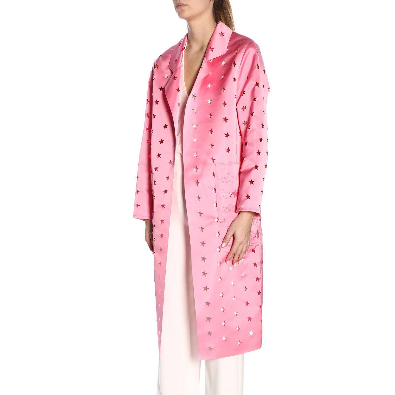 Cappotto donna Caban Romantic rosa 2