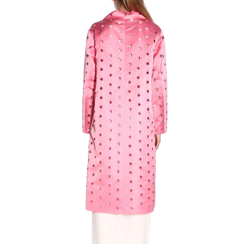 Cappotto donna Caban Romantic rosa 3