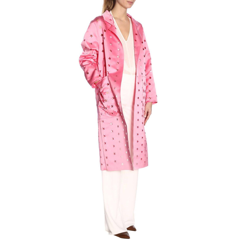Cappotto donna Caban Romantic rosa 4