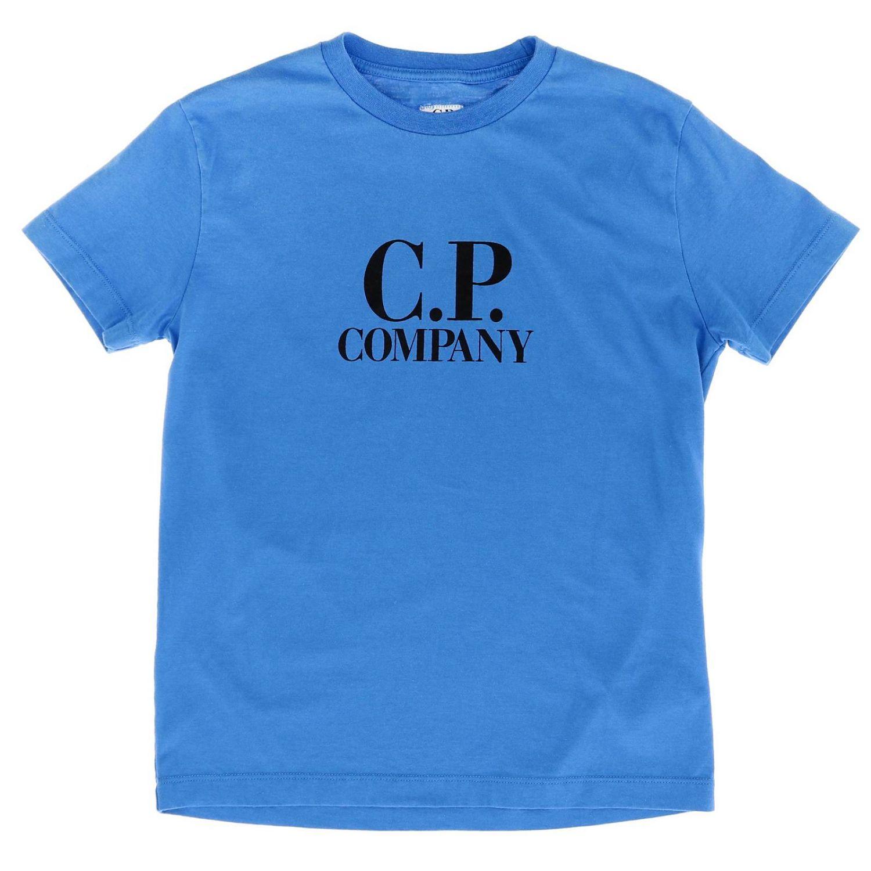 T恤 儿童 C.p. Company 蓝色 1