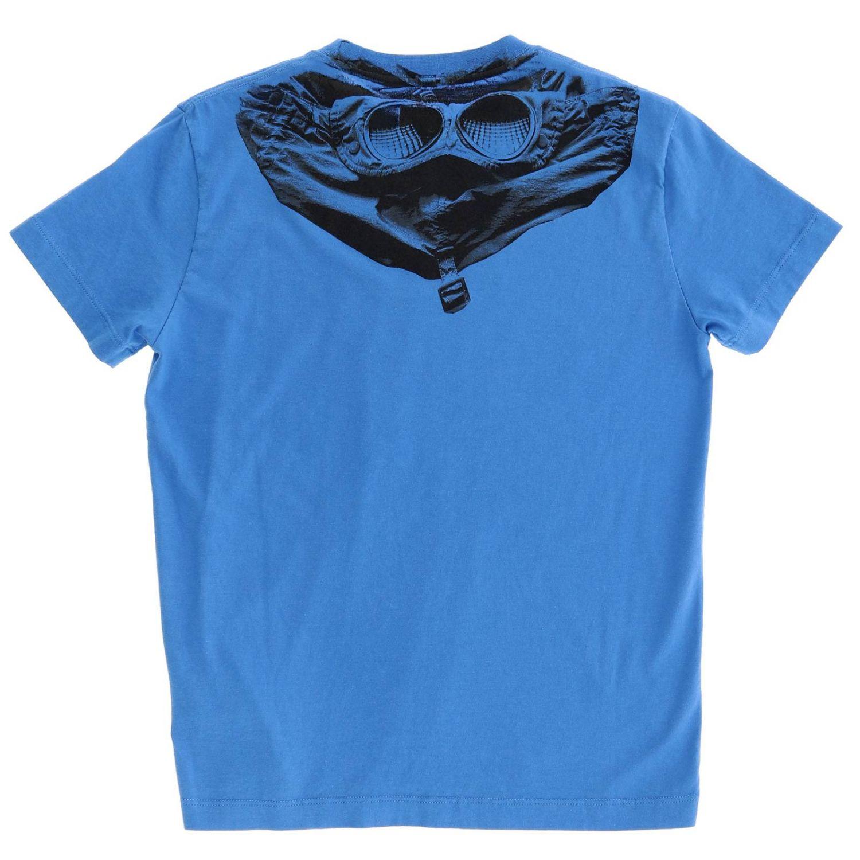 T恤 儿童 C.p. Company 蓝色 2