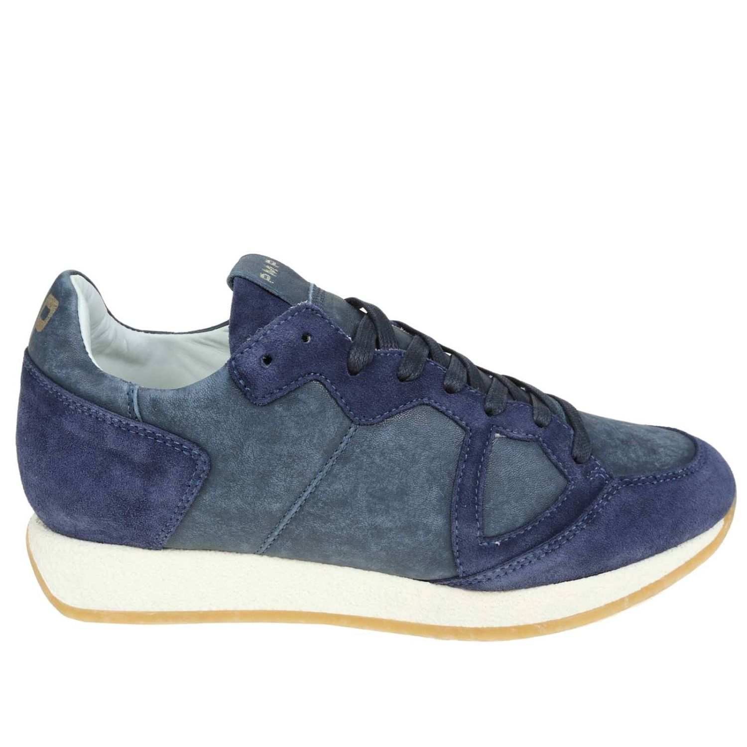Trainers men Philippe Model blue 1