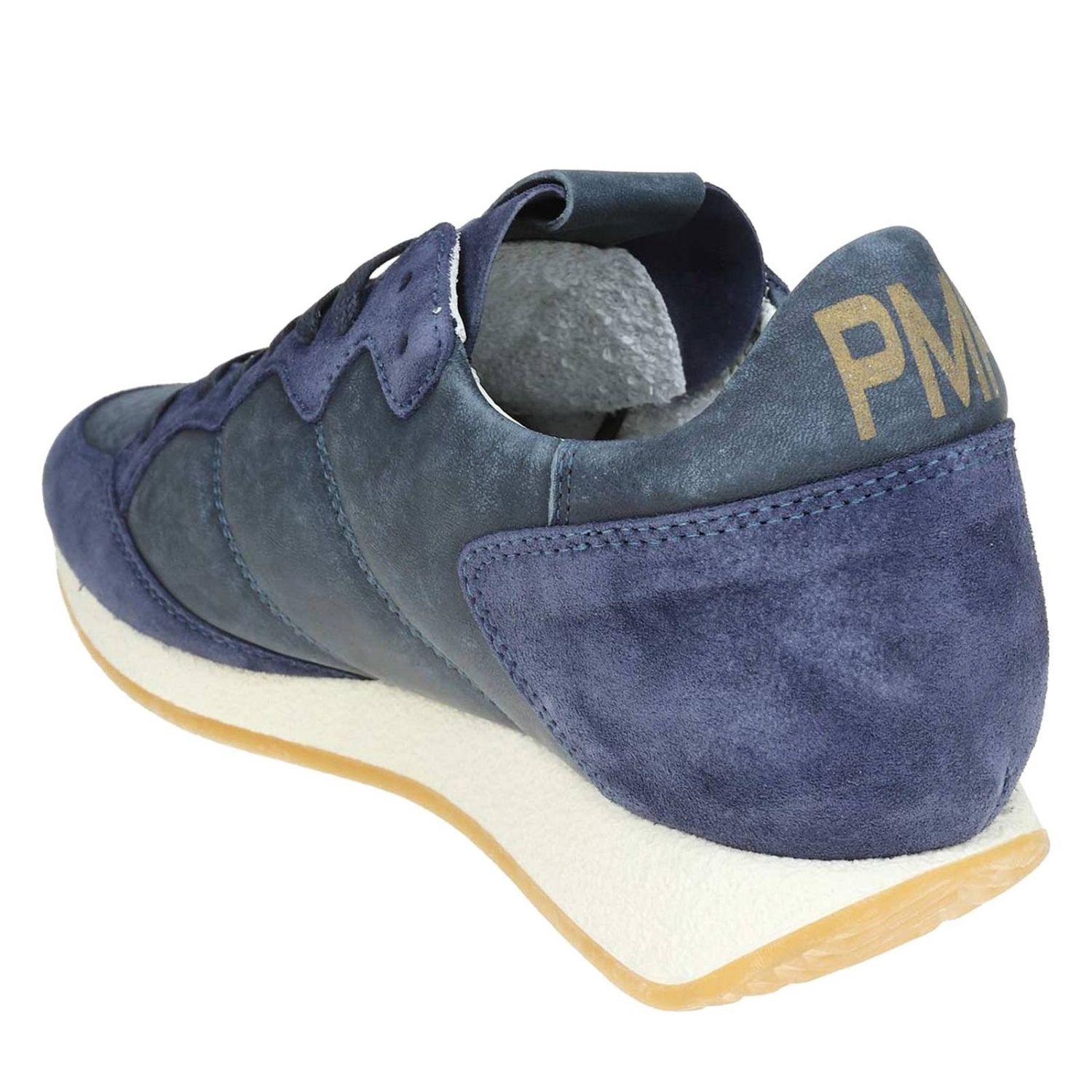Trainers men Philippe Model blue 4