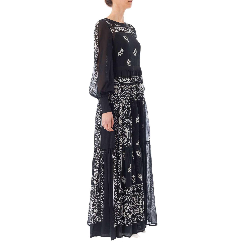 Vestido mujer Black Coral negro 2