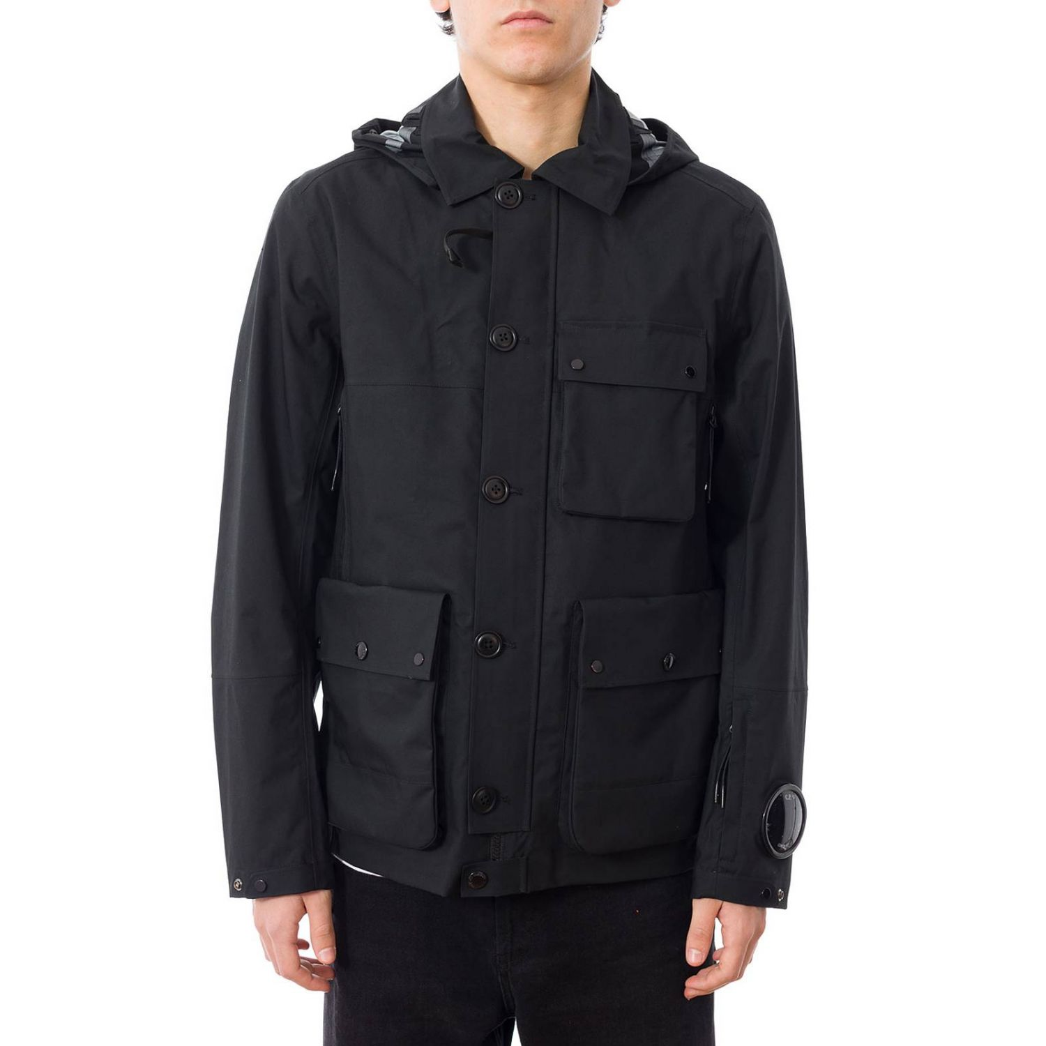Coat men C.p. Company black 1