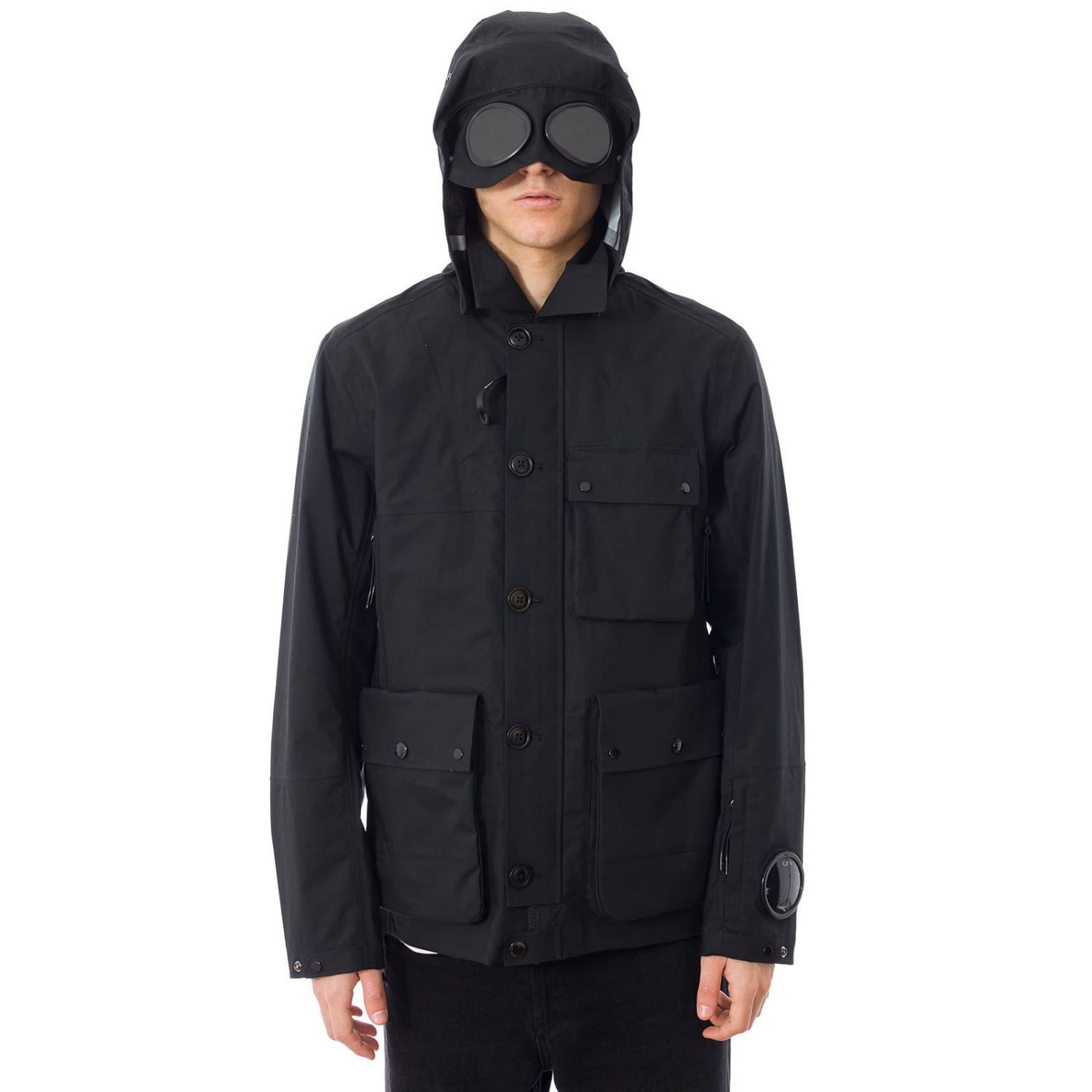 Coat men C.p. Company black 5