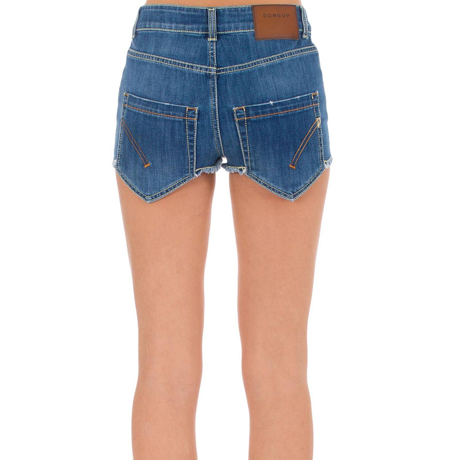 Short women Dondup blue 3