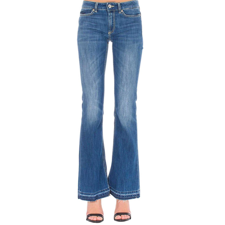 Jeans women Dondup blue 1