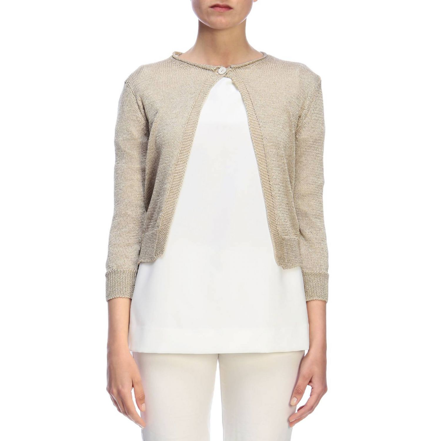 Jumper women Rossopuro gold 1
