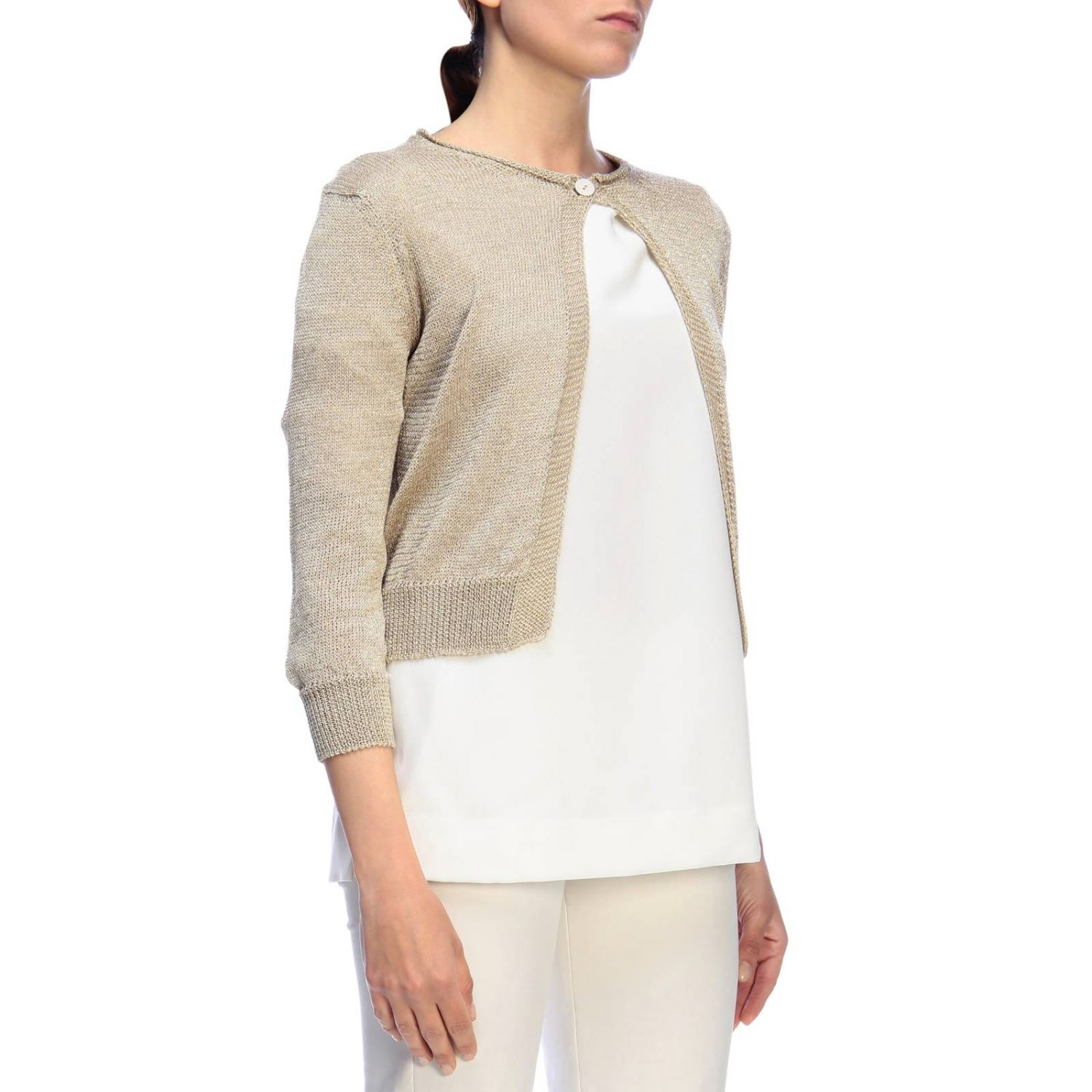 Jumper women Rossopuro gold 2