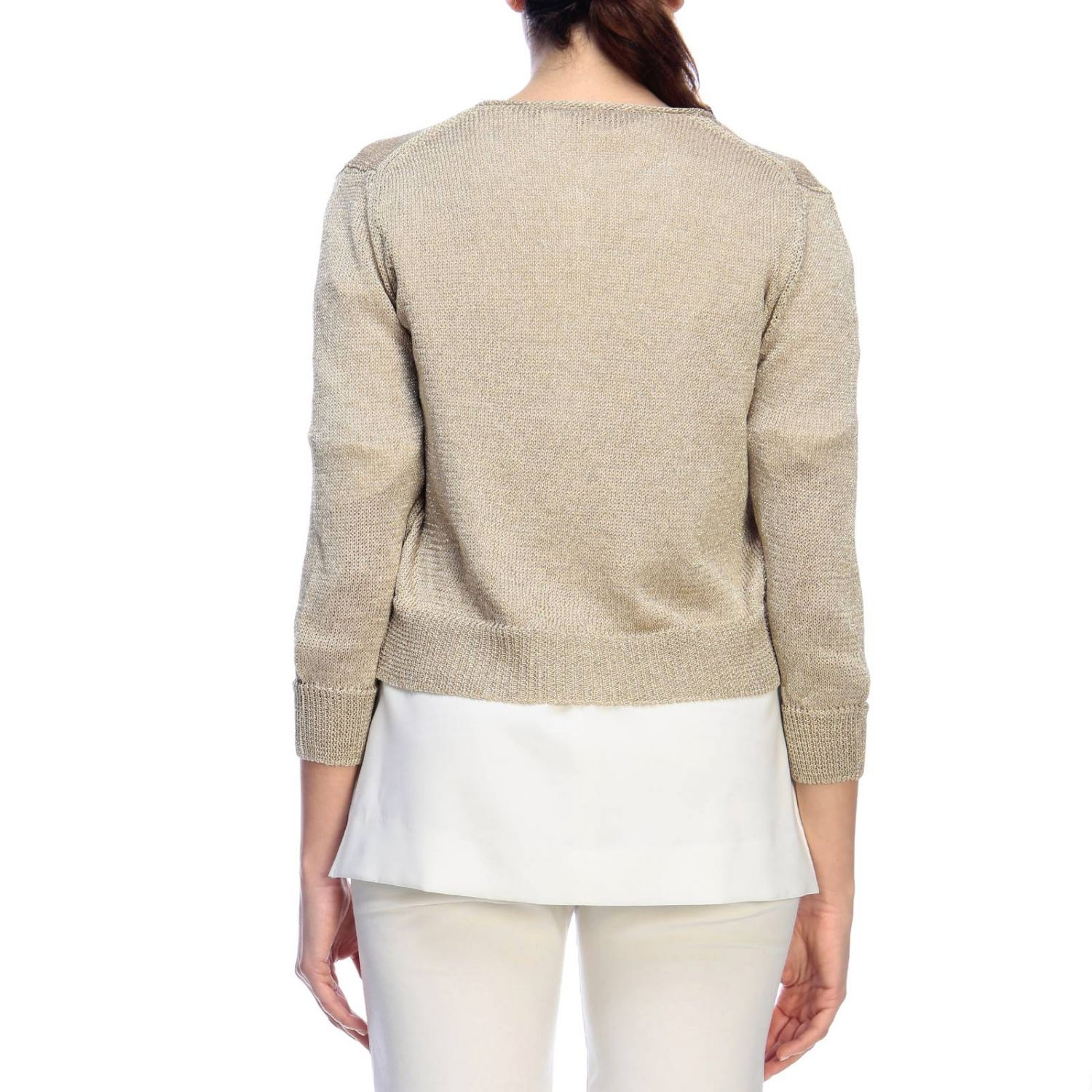 Jumper women Rossopuro gold 3