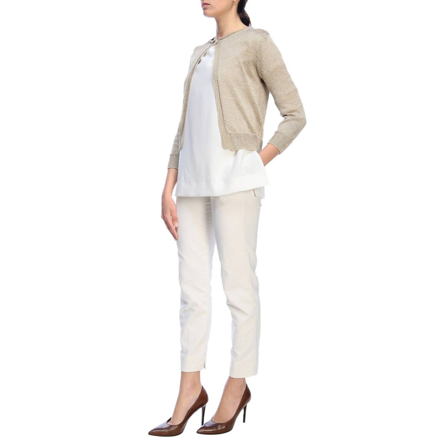 Jumper women Rossopuro gold 4