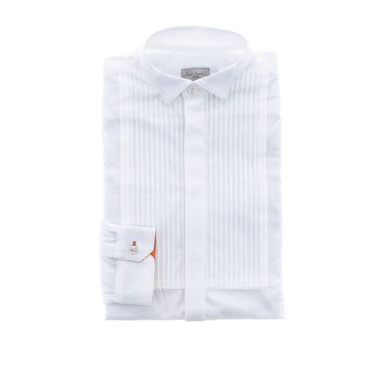 Shirt Paul Smith Junior: Shirt kids Paul Smith Junior white 1
