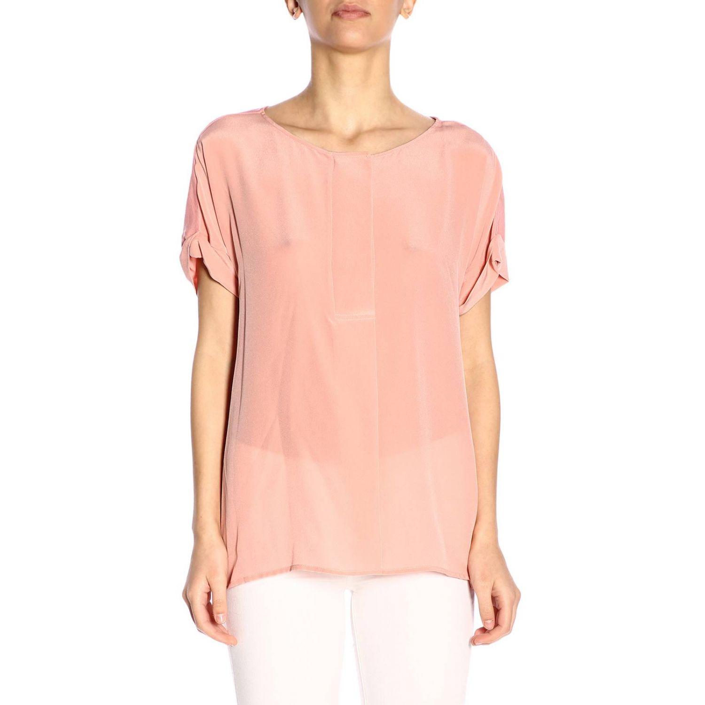 T-shirt women Woolrich pink 1