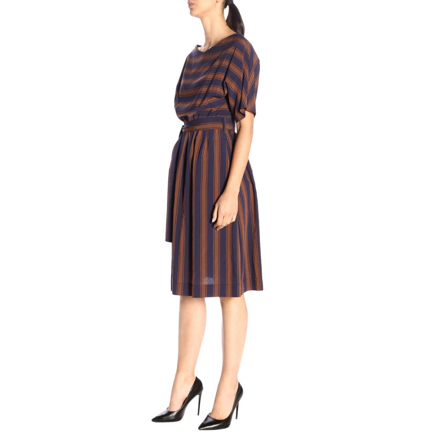Dress women Woolrich blue 2