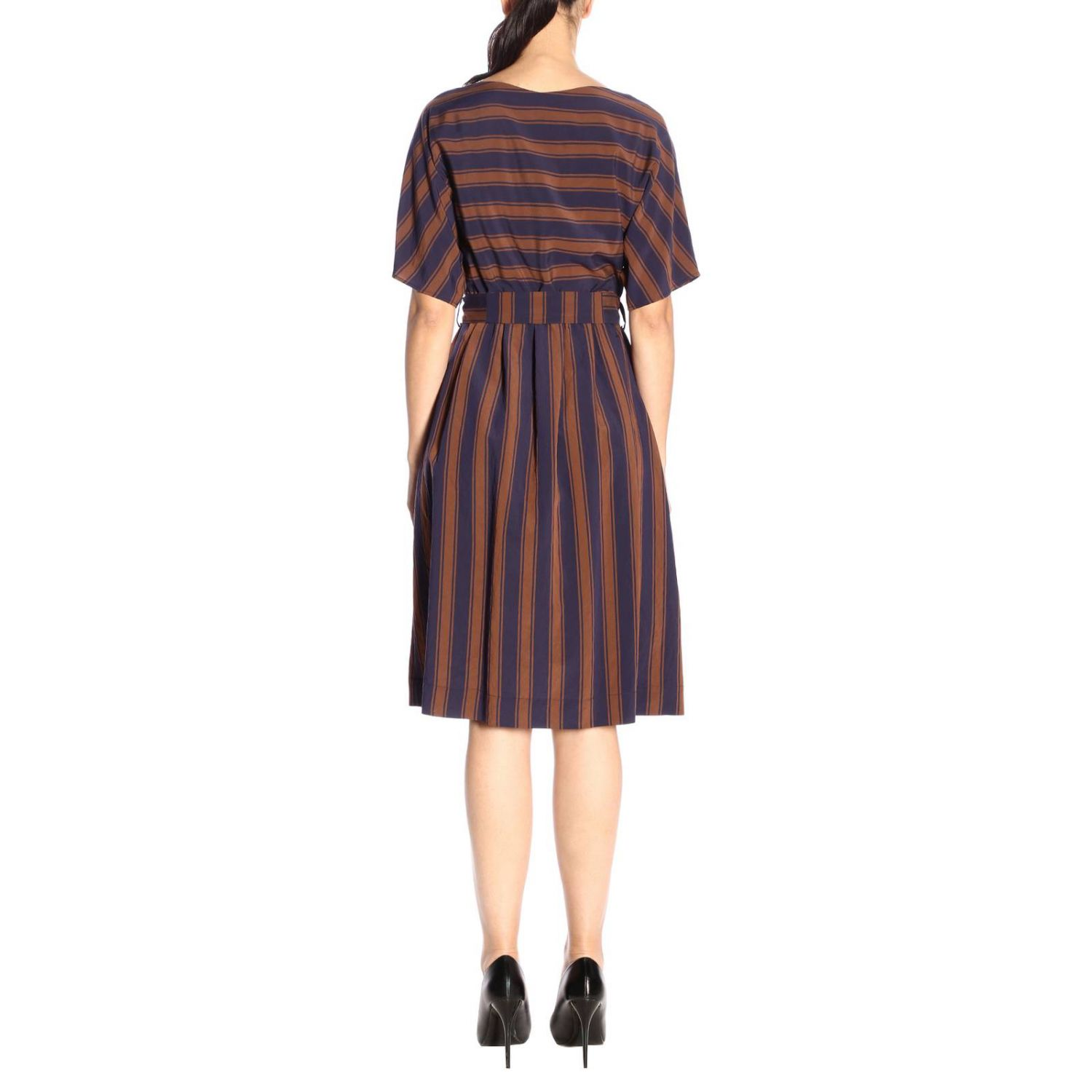Dress women Woolrich blue 3