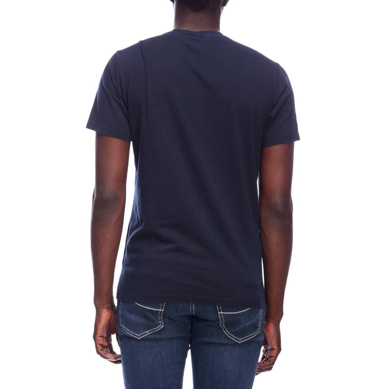 T-shirt men Woolrich blue 3