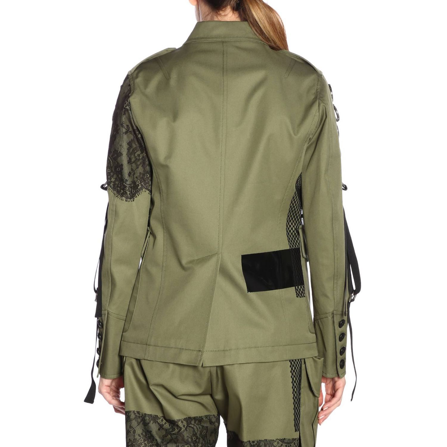 Giacca donna Dsquared2 verde 3