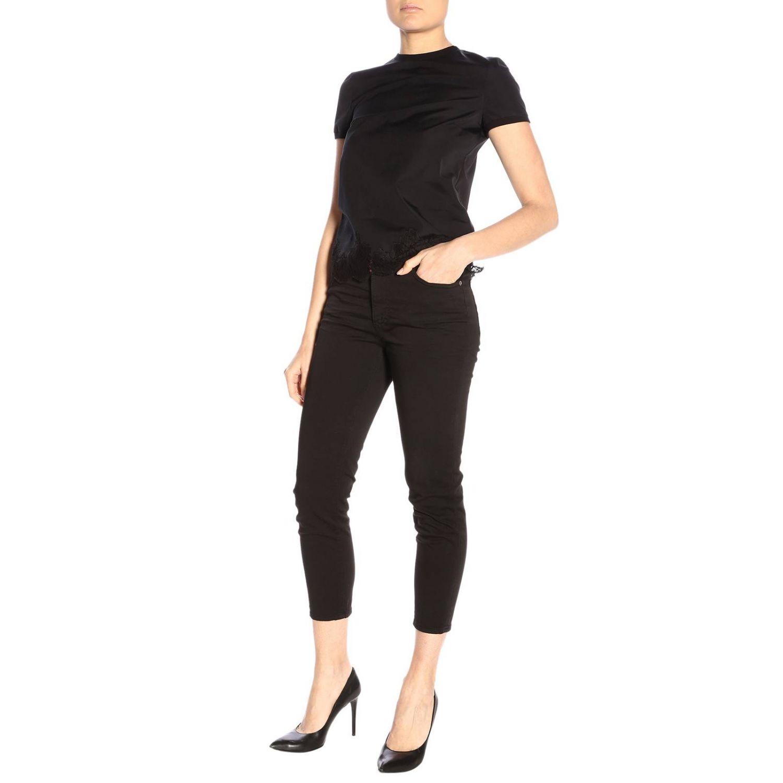 T-shirt donna Dsquared2 nero 4