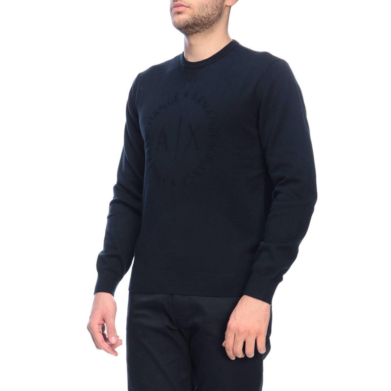 Свитер Мужское Armani Exchange темно-синий 2