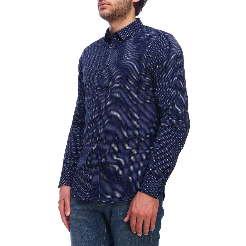 Camisa hombre Armani Exchange azul marino 2