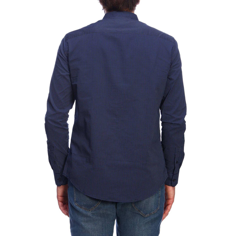 Camisa hombre Armani Exchange azul marino 3