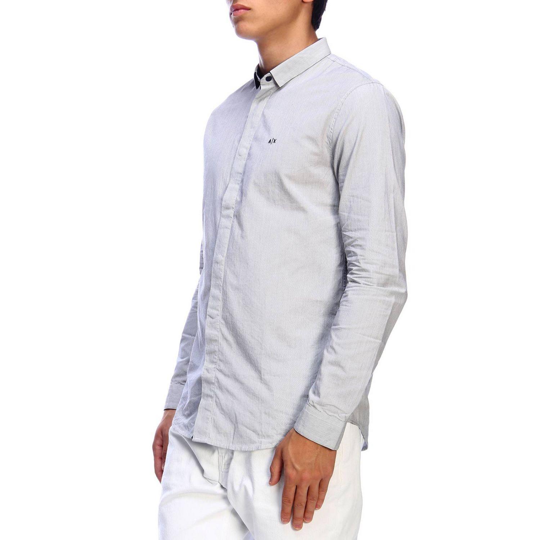 衬衫 Armani Exchange: 衬衫 男士 Armani Exchange 海军蓝 2