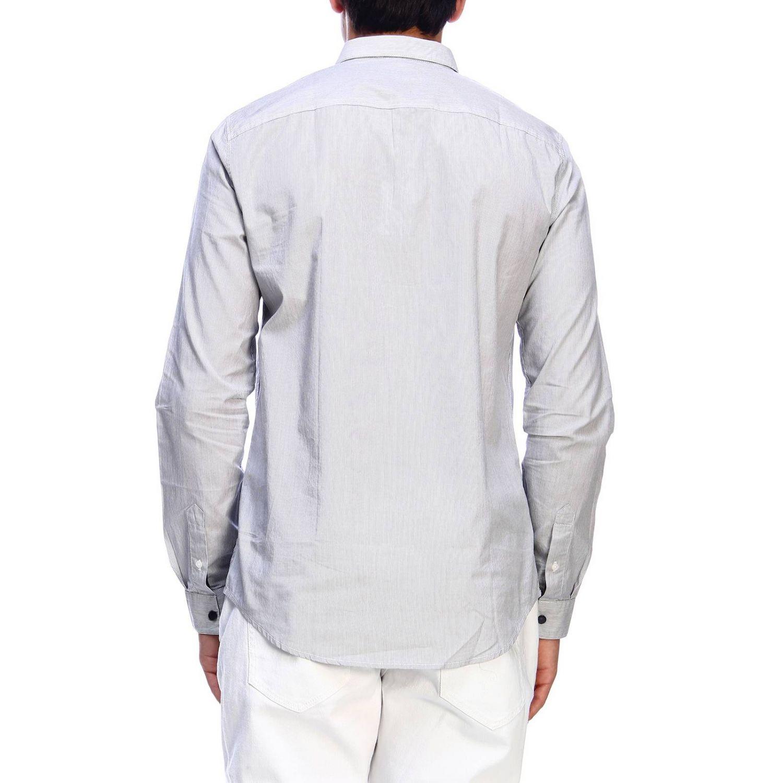衬衫 Armani Exchange: 衬衫 男士 Armani Exchange 海军蓝 3