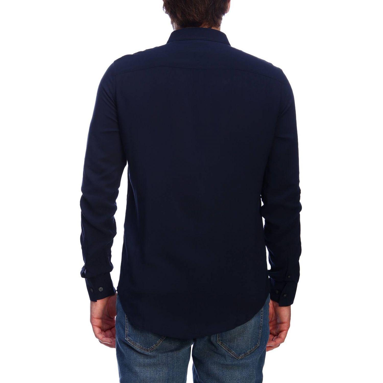 衬衫 男士 Armani Exchange 海军蓝 3