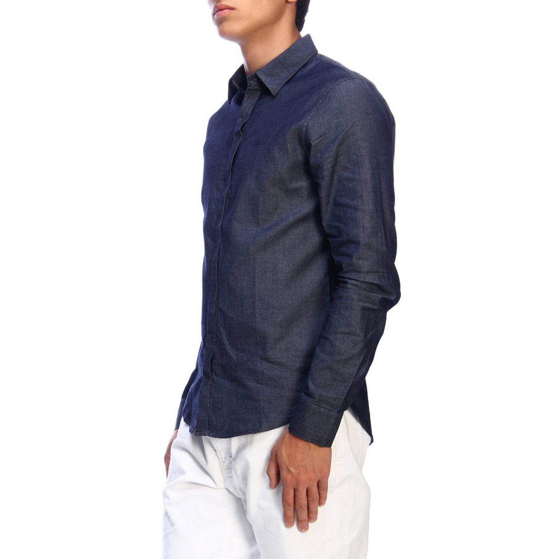 Shirt men Armani Exchange denim 2