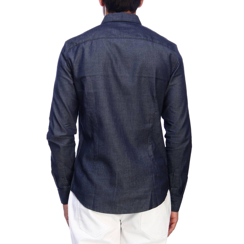 Shirt men Armani Exchange denim 3