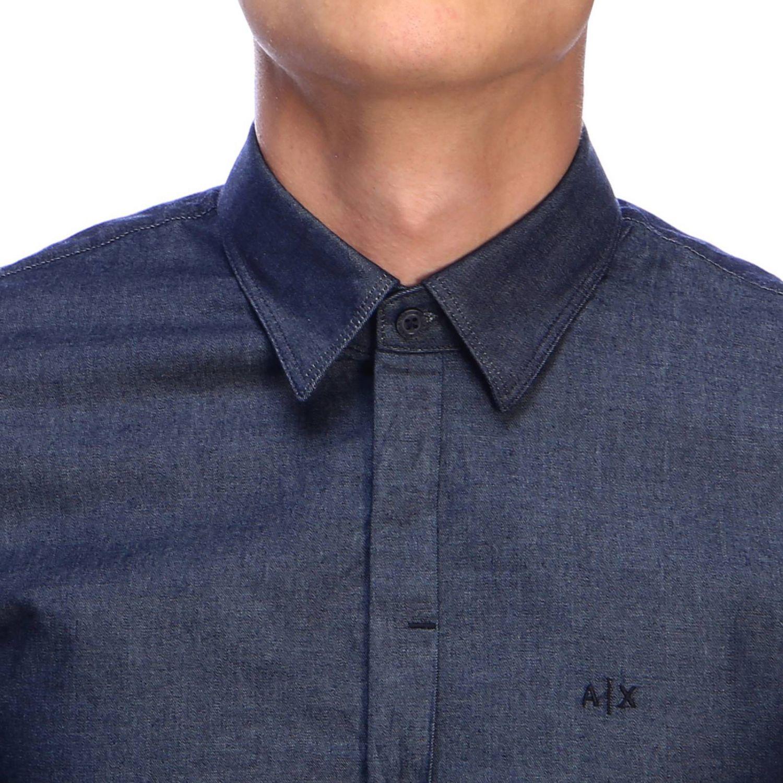Shirt men Armani Exchange denim 4