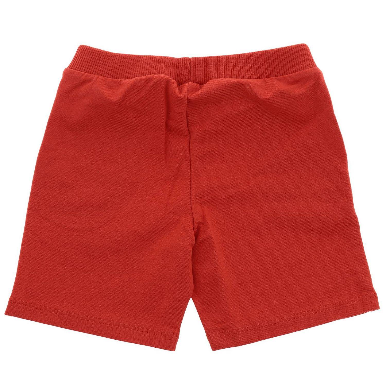 Short kids Moschino Baby red 2