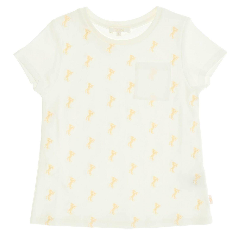 CHLOÉ | T-Shirt T-Shirt Kids ChloÉ | Goxip